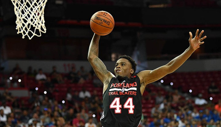 NBA: Summer League-San Antonion Spurs at Portland Trail Blazers