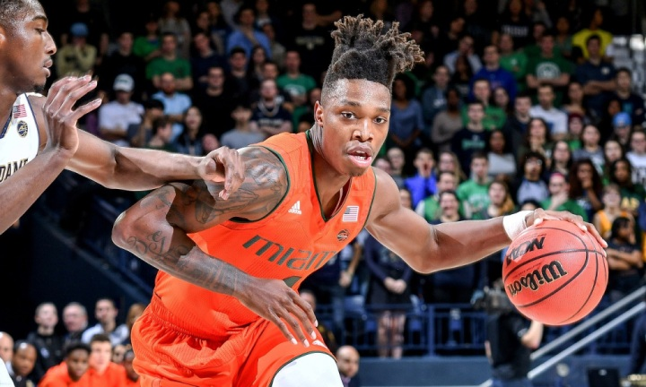 NCAA Basketball: Miami at Notre Dame